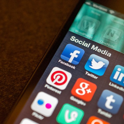 Social Media apps by Jason A. Howie, on Flickr