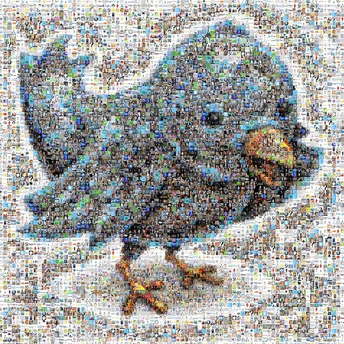 Twitter Follower Mosaic by joelaz, on Flickr