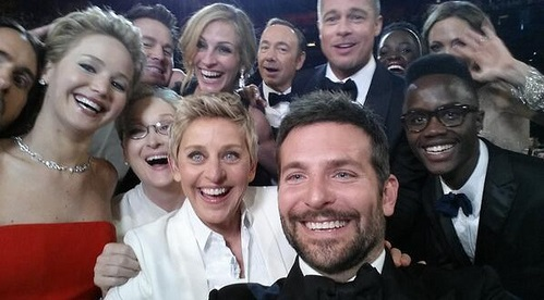 Ellen Oscar Selfie: The most retweeted t by ifindkarma, on Flickr