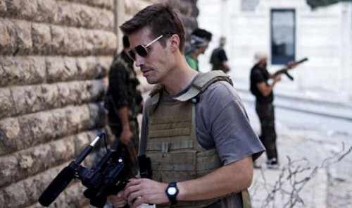 #JamesFoley Hashtag Becomes a Venue For Political Discourse Worldwide
